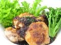 料理メニュー写真鶏ももソテー バルサミコソース