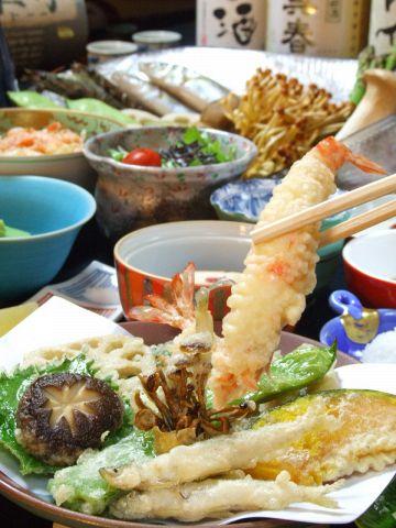 リーズナブルに「天ぷら料理」なら、ミント地下の「島家」で★