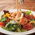料理メニュー写真はなの舞海鮮サラダ