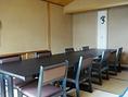 3階 ご会席場 八幡平(はちまんだいら) 最大10名様までご利用可能です。お座敷でのテーブル・イスも可能です。