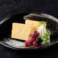 料理メニュー写真安納芋のチーズケーキ