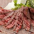 料理メニュー写真牛ハラミのタリアータ