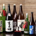 北海道の地酒種類豊富に揃えております!新鮮なお刺身にぴったりの一杯をご用意致します。