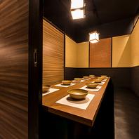 デザイナーズ個室は少人数~大人数までご利用可能!