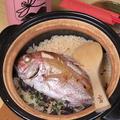 料理メニュー写真土鍋ご飯 (鯛飯、牡蠣飯、タコしらす等日によって内容が変わります)