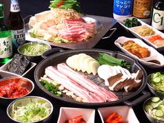 ホルモン鍋 大邱食堂 魚町本店のコース写真