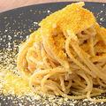 料理メニュー写真湘南シラスとカラスミのペペロンチーノ