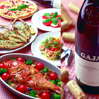 フレンチ・イタリアンのシェフが作る本格料理