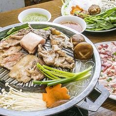 料理メニュー写真タイ式焼肉「ムー・ガタ」