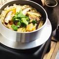 料理メニュー写真九州産 親鶏の釜飯