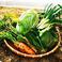 料理メニュー写真地産地消の新鮮野菜