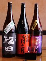 日本酒・焼酎に自信あり