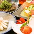 【おもろはうすのこだわり4】地元食材を使った沖縄料理。種類も豊富なため、出張で沖縄に来られたお客様からも好評です。