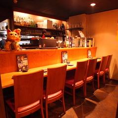 【カウンター席】お仕事帰りの一杯や軽いお食事、2軒目使いに◎