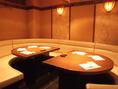 少し人数が多くても、大テーブル席でご用意できます!最大12名様まで入るテーブルです。
