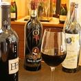 【おもろはうすのこだわり5】和洋料理どれにでも合うお酒をご用意しています。特にワインは、おもろはうすでしか楽しめない厳選銘柄もご用意。また、日本酒、焼酎、プレミアム泡盛、カクテルなど様々なジャンルのお酒が豊富にあり。