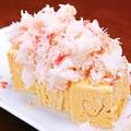 料理メニュー写真蟹ぶっかけだし巻き玉子