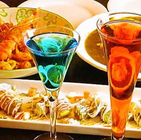 明け方まで、本格的なイタリアンが味わえる店。ドリンクメニューも充実。