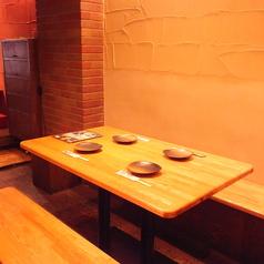 【3~5名様用テーブル-1-】小規模でのご宴会やお食事に。