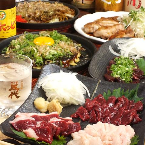 """お店こだわりの""""油かす""""の入った本場大阪のお好み焼き、焼きそばが味わえるお店♪♪"""