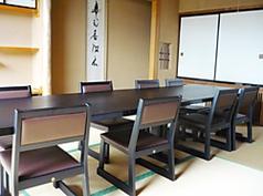 3階 ご会席場 岩手山(いわてさん) 最大8名様までご利用可能です。お座敷でのテーブル・イスも可能です。