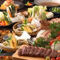 月替り☆人気の宴会コース☆お客様のご予算に合わせてコースをご用意いたします♪