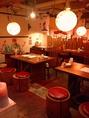 赤ちょうちんやのぼりが所々にあり、昭和レトロを感じさせる雰囲気です。【居酒屋 大人数 宴会 二次会 コンパ 藤が丘 名古屋めし