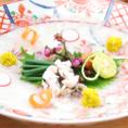 熊本県産のとらふぐを使用したフグ料理はおススメの逸品。刺身は勿論、煮こごりや唐揚げなどバラエティ豊かなフグ料理がお楽しみ頂けます。