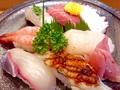 料理メニュー写真(中)握り寿司 ※季節により、ネタは変更します!