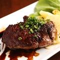 料理メニュー写真鹿児島のえこめ牛のランプ肉