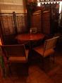 【テーブル席】2名様でのご利用イメージです!