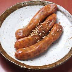 料理メニュー写真チョリソ(メキシカンソーセージ)5本