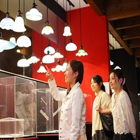 匠の技に魅入られて…ぎやまんガラス美術館併設