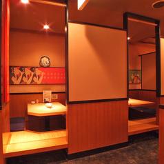 少人数での飲み会にオススメ!!個室席なので周りを気にせずお楽しみ頂けます。