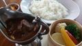 料理メニュー写真欧風チキンカレー (蒸し野菜添え)