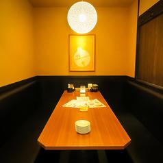 4名様個室席♪プライベートな飲み会やデートにもぴったりです!