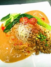 料理メニュー写真冷やし担担麺