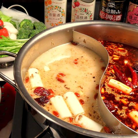 新潟で中華を愉しむなら光輝★手間暇かけた熱々ヘルシー火鍋がイチオシ!!