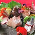 料理メニュー写真長浜魚市場直送 お刺身盛り合わせ《3種盛/5種盛》 (一人前)