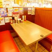 テーブル席にリニューアル致しました!※小さいお子様にはテーブルに引っ掛けるタイプの椅子やお子様用座布団などもご用意しております。(数に限りがあります)