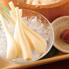 料理メニュー写真エシャレット/ザクッときゅうり(塩・梅)