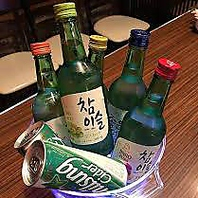 韓国で大人気のお酒がたくさん!!