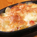 料理メニュー写真ジャガチーズ鉄板