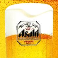 生ビール(中ジョッキ)\190★何杯飲んでもOK!!