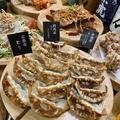 料理メニュー写真黒こしょう薫るにんにく餃子 (青森県)