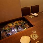 2~6名様 テーブルにジオラマが組み込み式