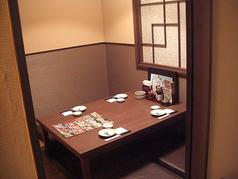 完全個室の人気席!!接待やデートに御活用下さい。