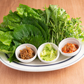 料理メニュー写真巻野菜盛合せ