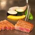 厳選されたお肉をお召し上がりください