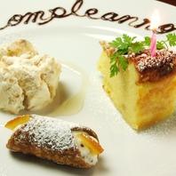 イタリア料理におけるデザートの重要性を啓蒙するお店